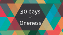30 Days of Oneness